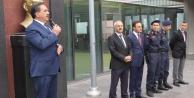 Kaymakam Güler ve Başkan Büyükgöz  Muallimköy'de Bayrak Töreninde
