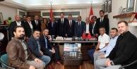 Büyükakın, MHP ilçe teşkilatını ziyaret etti