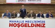 Çayırova'da Mahalle meclisleri tamam