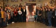 Çiftçi, Vatandaşlarla Naim Süleymanoğlu filmini izledi