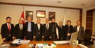 Teşkilat Başkanı Kandemir'den Başkan Çiftçi'ye ziyaret
