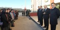 Bayrak töreni Kirazpınar'daydı