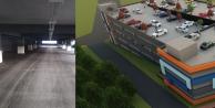 Gebze'nin yeni 7 katlı otoparkı asfaltlanıyor