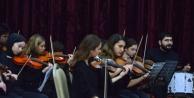 Konservatuvar Oda Orkestrası konsere hazırlanıyor