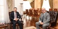 Maden ve Petrol İşleri Genel Müdürü Vali Aksoy'u Ziyaret Etti