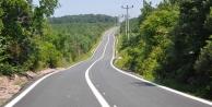 Köylere, bir yılda 68 kilometre yol inşa edildi