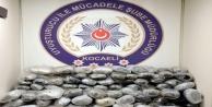 28 kilo esrar ile değişik ebatta çeşitli uyuşturucu maddeler ele geçirildi
