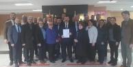 İYİ Parti Gebze'nin Yeni Yönetimi mazbatasını aldı
