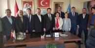 Saadet Partisi, İYİ Parti'yi ziyaret etti
