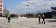 """Kocaeli'de """"Drone""""li denetimler başladı"""