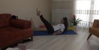 Kocaelili anneler sporu evlerinde yapıyor