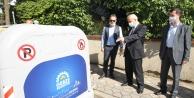 Gebze'de Temizlikte Yeni Uygulama:Yeni hacimli konteynır sistemi!