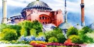 Gebze'de Ayasofya Konulu Resim Yarışması