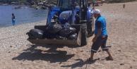 Halk sahilleri kirletti, Büyükşehir temizledi!