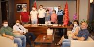 CHP , Tüm Bel Sen'i ağırladı