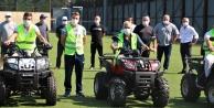Sahalara ATV Bakım Motorları Geldi