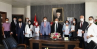 Çayırova'da 10 okula 'Okulum Temiz' belgesi