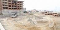 Diliskelesi halı saha inşaatı başladı