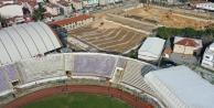 Gebze'nin yeni futbol sahası şekillenmeye başladı