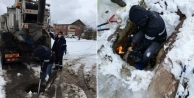 İSU yoğun kar yağışına rağmen kesintisiz hizmetler sürdürüyor