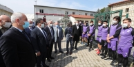 Başkan Büyükgöz'den  Mormenekşe'ye Moral ziyareti