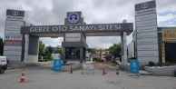 Gebze Oto Sanayi'nde üstyapı çalışmaları devam ediyor