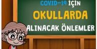 Okullarda COVID-19 önlemlerine dikkat!