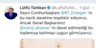 Lütfü Türkkan : Yemin törenine katılmayacağız