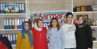 Çakır'a, Kadın muhtar adayından destek ziyareti