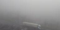 Gebze'yi sis bastı