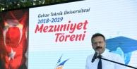 Vali Aksoy, GTÜ Mezunuiyet töreninde konuştu