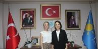 Gebze İYİ Parti Kadın Kollarında Bayrak, Seda Yalçınkaya'da