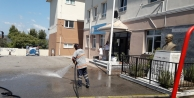 Gebze'de okullar yıkanıyor
