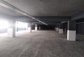 Gebze'deki 7 katlı otoparkın  dış cephesi boyanıyor