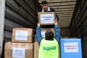 En sevdikleri oyuncaklarını Suriyeli kardeşlerine gönderdiler