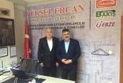 İl Emniyet Müdürü Tipioğlu gazetemizi ziyaret etti