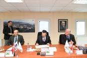 KMİOSB'un yapacağı  Atölye Binası protokolü imzalandı