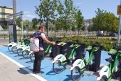 Bisikletler düzenli olarak dezenfekte ediliyor