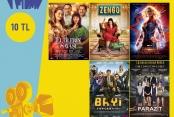 Gebze Cinemaxımum'da Mısır ve Kola Bedava