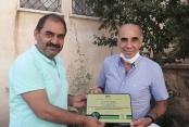 Başkan Hürriyet'ten  Elazığ'a şampiyonluk plaketi