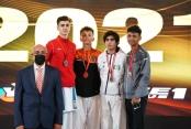 Genç karatecilerden önemli başarı